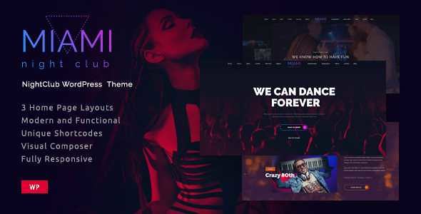 Miami WordPress Theme free download