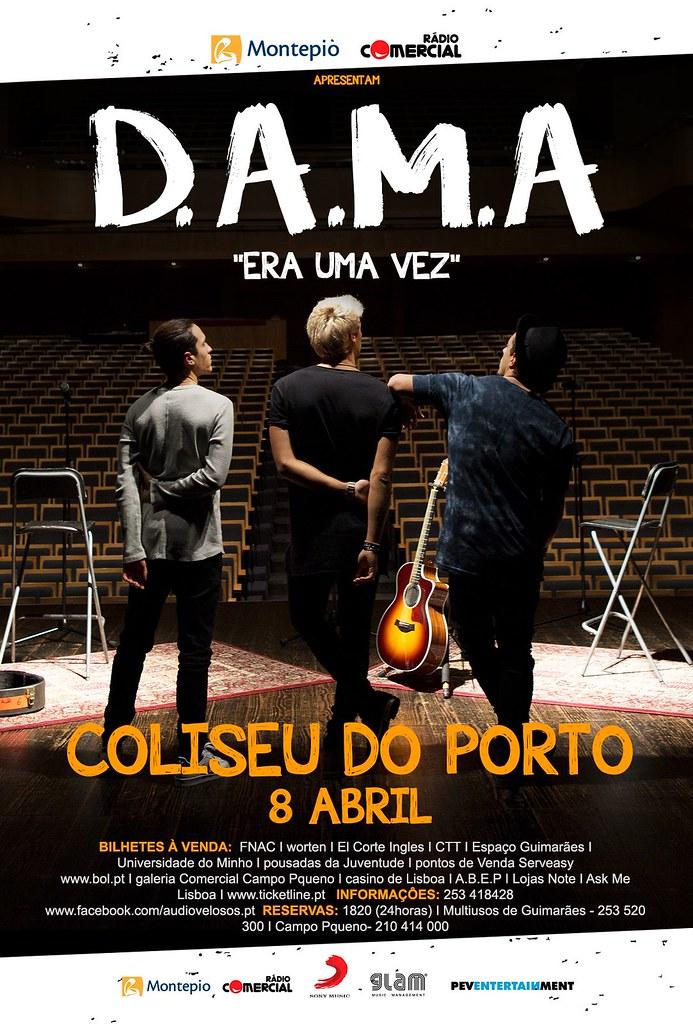 D.A.M.A - Coliseu do Porto