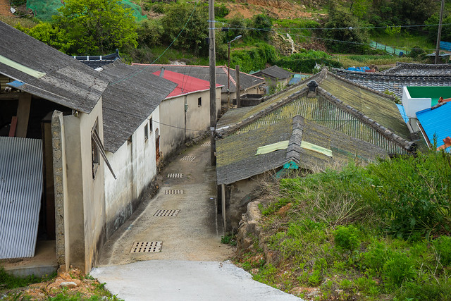 Alley, Gunnae-ri, South Korea