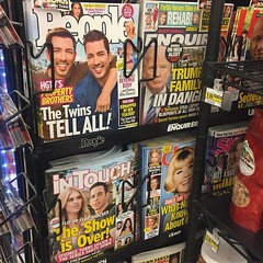 It is pretty telling when half of the tabloid magazines are about #hgtv celebrities...  People must really love #realestate 😂🏡 #realtor  #realtorlife #propertybrothers #fliporflop #tarekandchristina