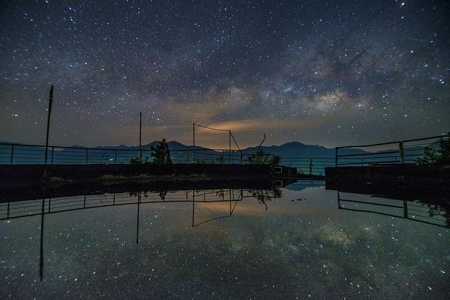 清境農場~銀河映像~ Milkyway reflection