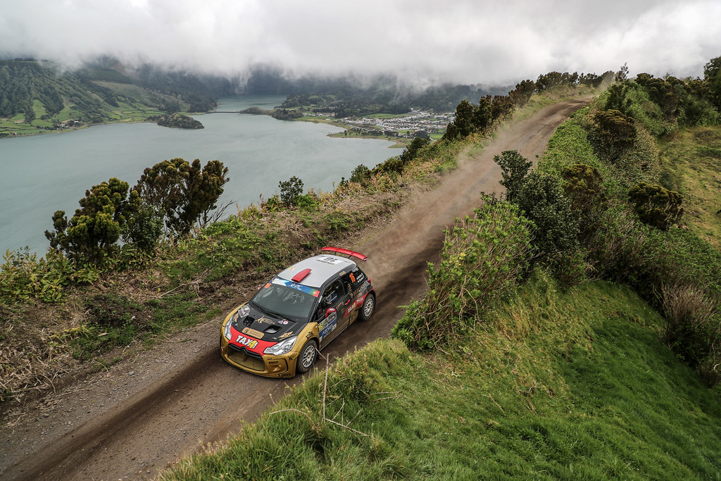 16 BOTKA David SZELES Peter  Citroen DS3 R5 Action during the 2017 European Rally Championship ERC Azores rally,  from March 30  to April 1, at Ponta Delgada Portugal - Photo Jorge Cunha / DPPI