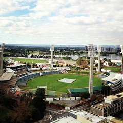 Perfect view for cricket season! #WACA #Perth
