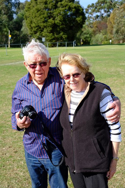 D and Joy visit