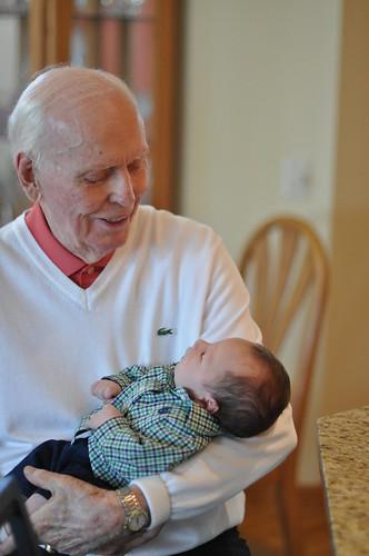 Bretton and Great Grandpa