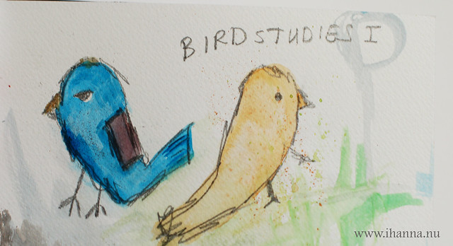 Art Journal Peek: Bird Studies