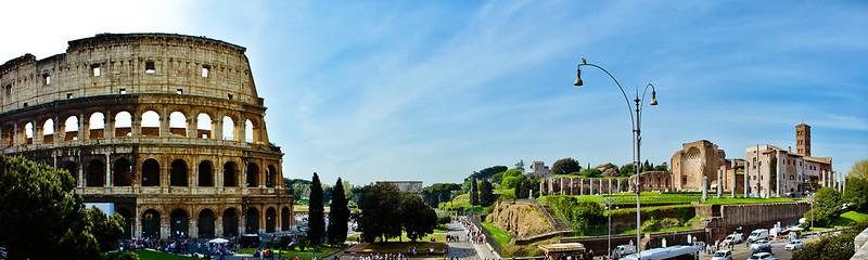 Colosseo & Foro Romano