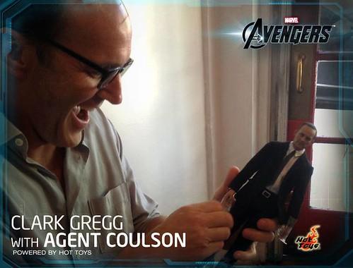 Phil Coulson Clark Gregg Hot Toys 1