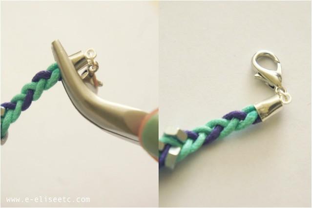 diy hex bracelet 7
