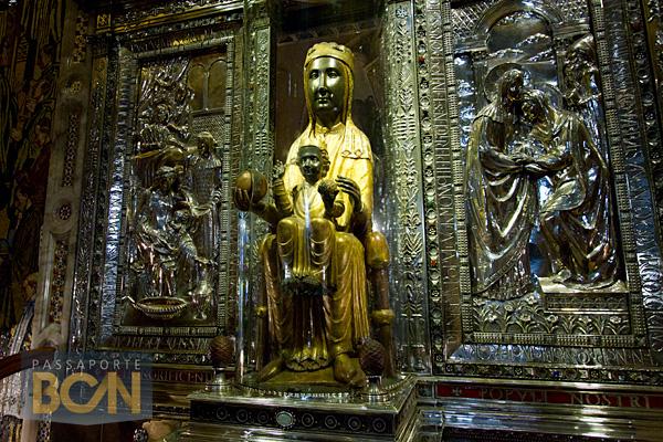 La Moreneta, Basílica de Montserrat