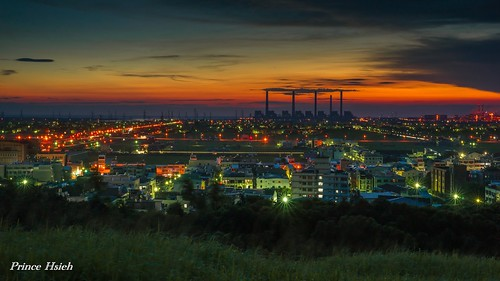sunset taiwan 夕陽 日落 台中市 taichungcity 大肚山 dadumountain sonya850 sony2470za taichungthermalpowerplant 台中火力發電場