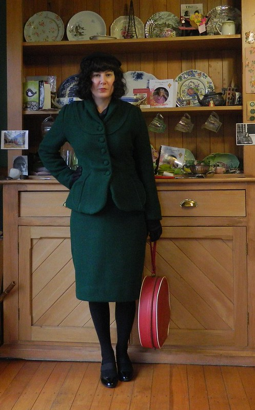 Suit made from vintage McCall's 8813 and Simplicity 3581