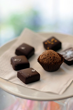 licorice caramels chocolates