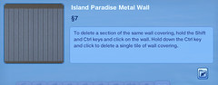 Island Paradise Metal Wall