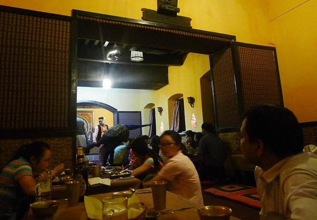 authentic Nepalese cuisine in Nepali Chulo, Kathmandu, Nepal
