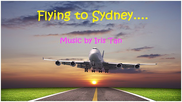 Flying to Sydney Pic