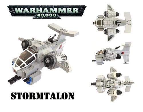 Warhammer 40K Stormtalon Gunship