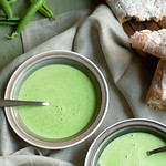 Fresh Easy Sweet Pea Soup