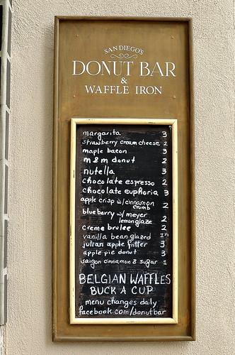 Donut Bar - San Diego