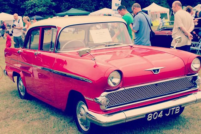red_vintage_car