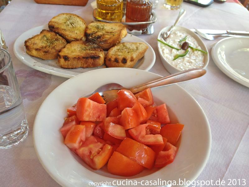 Pirgos Restaurant Vorspeisen