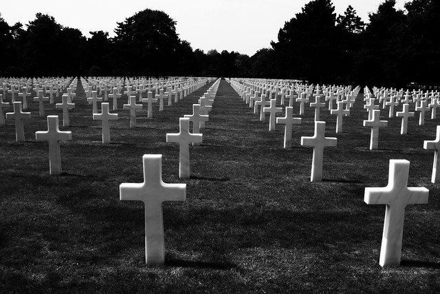 Normandy American Cemetery, by Hans Splinter