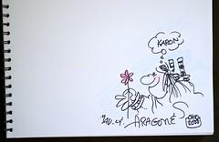 Sergio Aragonés Sketch by Karon
