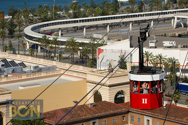 Aeri del Port, o teleférico do Porto de Barcelona