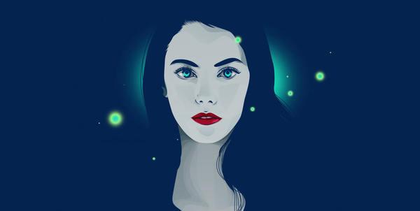 ilustraciones vectoriales retrato