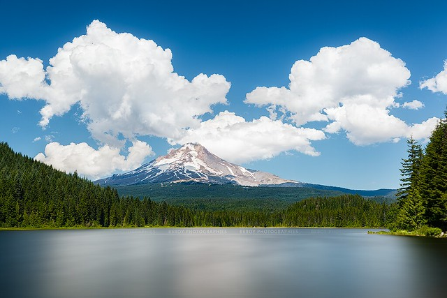 Trillium lake, Mt. Hood National Forest, Oregon