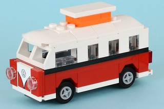review 40079 mini vw t1 camper van brickset lego set. Black Bedroom Furniture Sets. Home Design Ideas