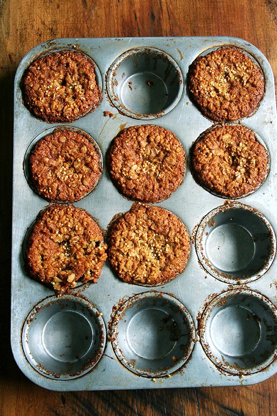 gluten-free millet muffins