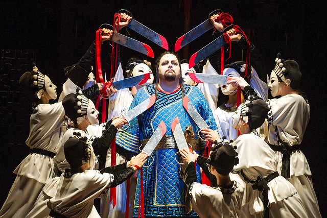Marco Berti as Calaf in Turandot © ROH/Tristram Kenton, 2013
