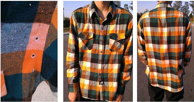 cycle flannel