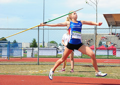 throwing, athletics, track and field athletics, sports, heptathlon, person, athlete,