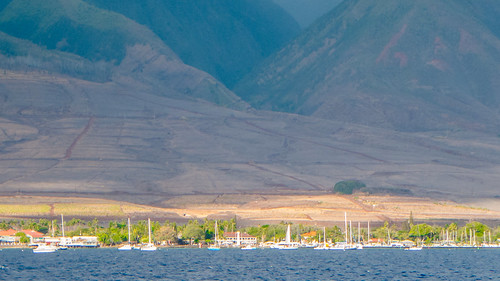 P1010475 – West Maui Mountains from the Sea by Ed Suominen