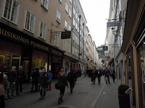 ザルツブルグの街