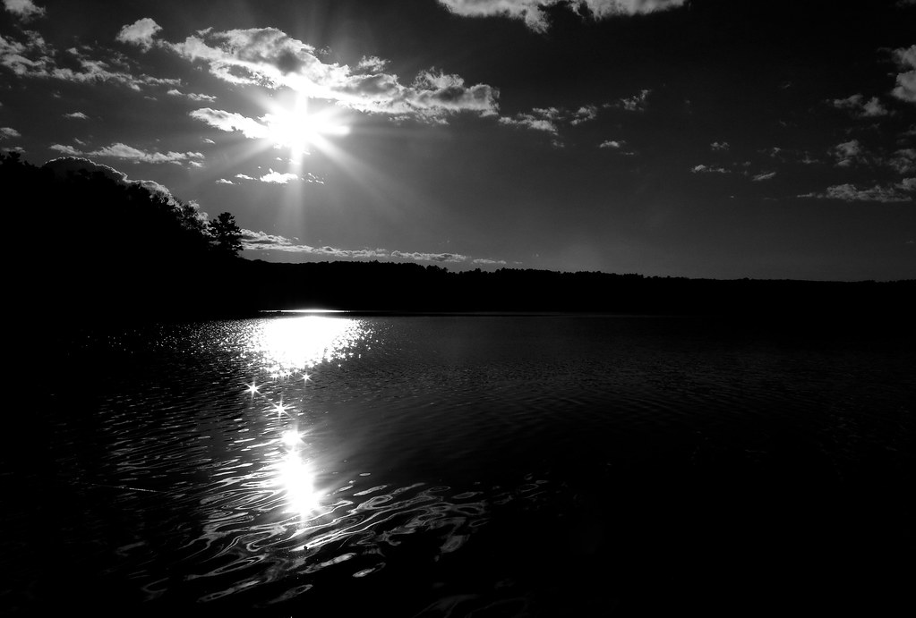 Late Afternoon Sun Over Laurel Lake