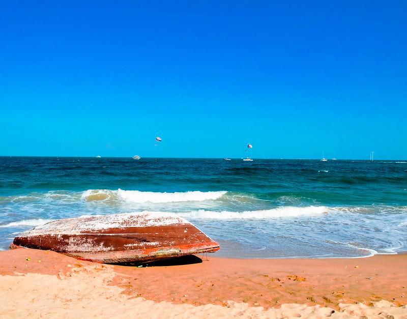 日照万平口 青岛石老人海滩,很多游客推荐,离青岛市区有点远,但沙滩