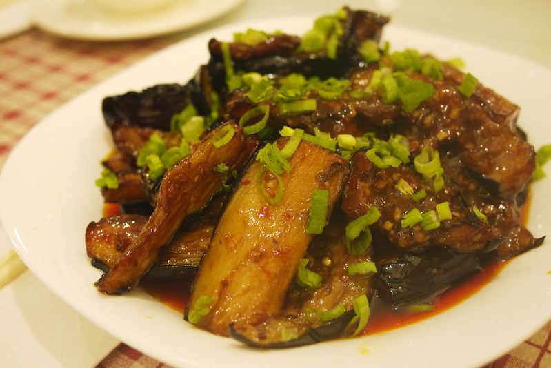 "Sichuan Spicy Eggplant/""Fish-Fragant"" Eggplant (????) @ Long's Chinese Food"