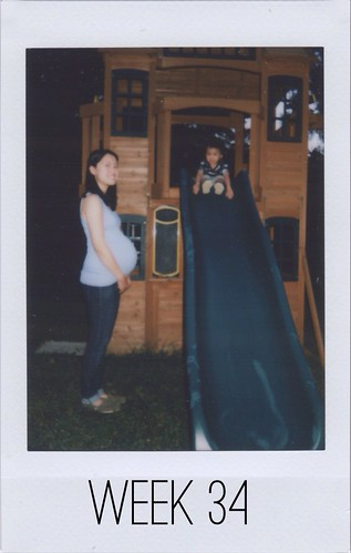 Baby Bump - Week 34
