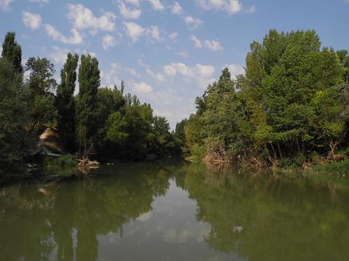 Quintanilla de Onésimo. Río Duero