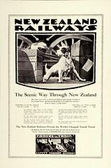 The Scenic Way Through New Zealand, Dog & Goose 1929
