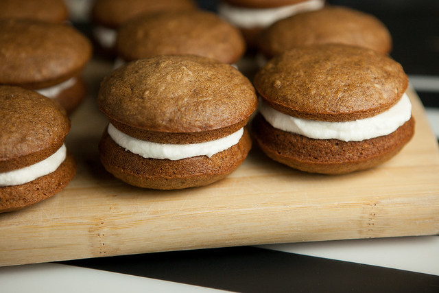 A recipe for Pumpkin Whoopie Pies, just like you buy at the Amish Markets!