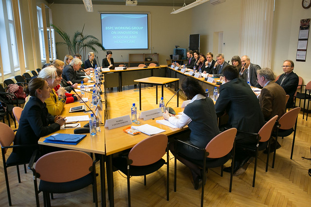 Baltijas jūras parlamentārās konferences Darba grupas sociālās un veselības aprūpes inovācijas jomā pirmā sēde