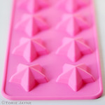 Five pointed star silicone mould