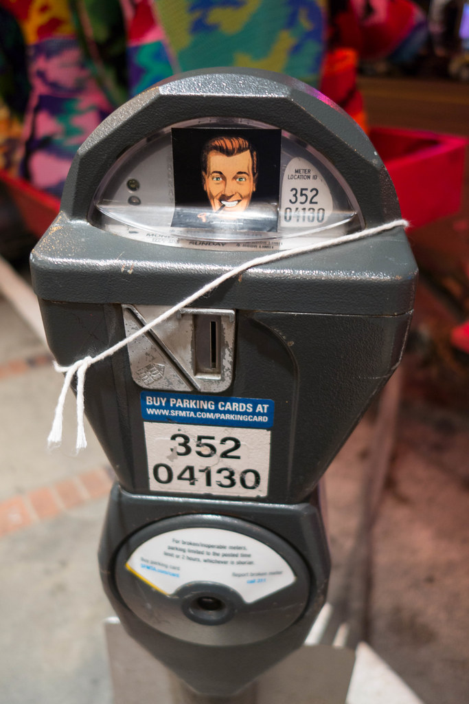 "Parking Meter with a lot of ""Slack"""