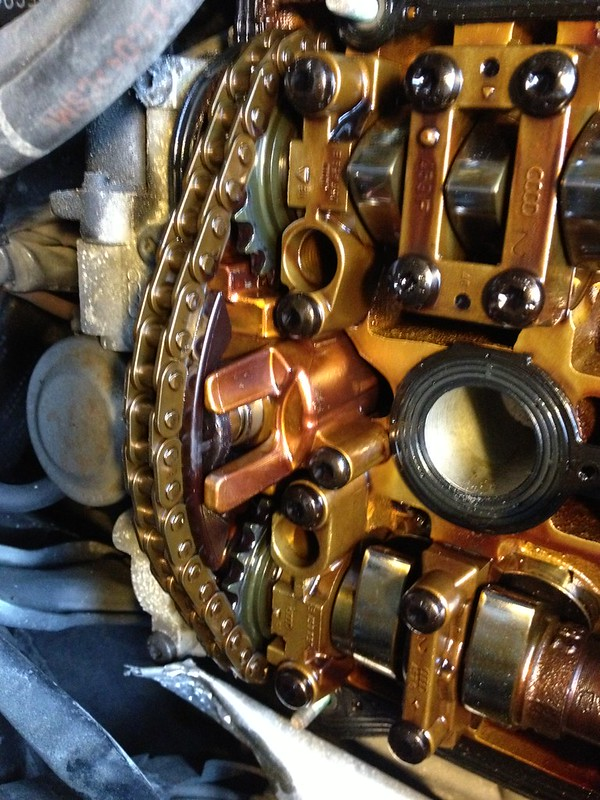 2.8 cam chain and tensioner replacement - AudiWorld Forums