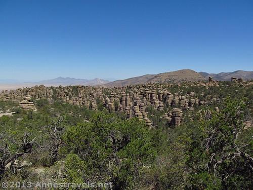 Views along the Big Balanced Rock Trail, Chiricahua National Monument, Arizona