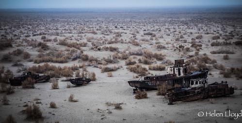 Deserted ships at Moynaq